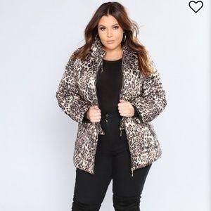 Keep Out II Leopard Jacket